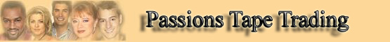 Passions Tape Trading banner