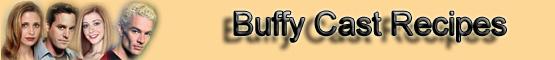 Buffy the Vampire Slayer Recipes (Banner)