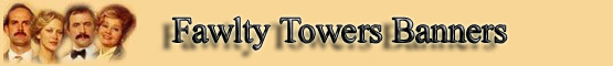 Link to us Fawlty Towers banner