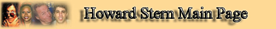 Howard Stern Show Main Page banner