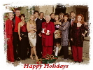 cast holiday picture
