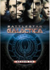 Battlestar Galactica season 2.5 DVD cover