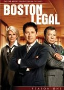 Boston Legal Season One DVD cover