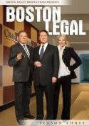 Boston Legal Season Three DVD cover
