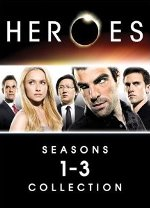 Heroes DVD 1-3 cover