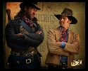 Brisco and Bowler from The Adventures of Brisco County Jr
